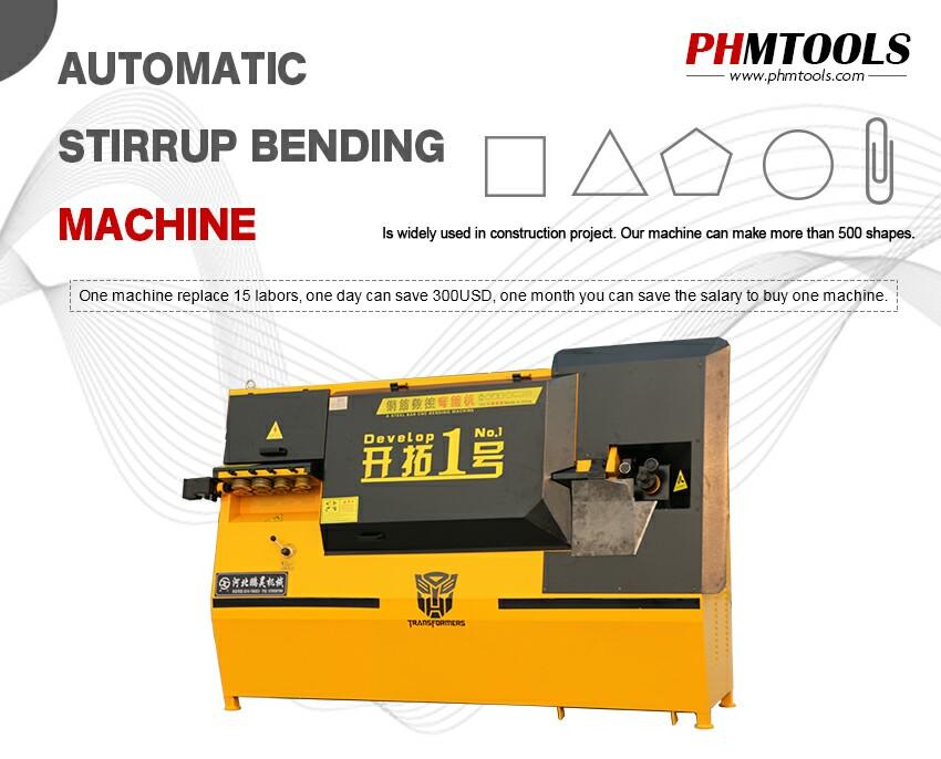 Develope No 1 Automatic rebar bending machine - Buy Develope